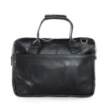 Nano Single Zip Leather Bag (Black) - Royal Republiq