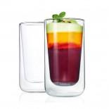 NERO Insulated Latte Macchiato Glasses 320ml (Set of 2) - Blomus