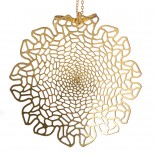 Chrysanthemum Pendant (Brass) - Nervous System