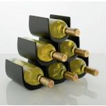 Noè Modular Bottle Holder (Black) - Alessi