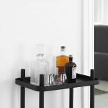 Block Table Trolley (Black / Black) - Normann Copenhagen