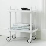 Block Table Trolley ( White / White) - Normann Copenhagen