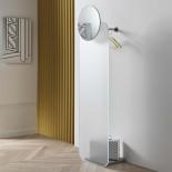 Opalina Wall Mounted Coat Hanger & Mirror – Tonelli Design