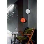 Ora Out Edge Mounted Clock (White) - Alessi