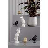 Origami Bird Statue Small (Matt Black) - Present Time