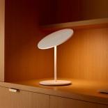 Circa Flat Panel LED Table Lamp (White) - Pablo Designs