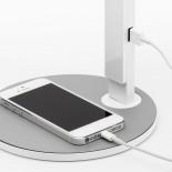 LIM360 Desk Lamp (Walnut / White) - Pablo Designs