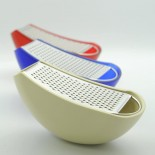 Parmenide Grater with Cheese Cellar (White) - Alessi