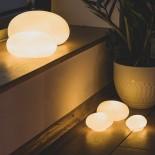 Pebble Led Lamp Small (Porcelain) - Raeder