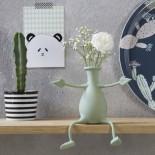 FLORINO Friendly Flower Vase (Peach) - Peleg Design