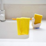Pelix Kitchen Towel & Sponge Holder - Peleg Design