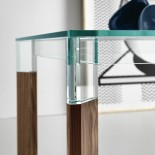 Perseo Table (Walnut) - Tonelli Design