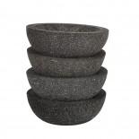 Lava Stone Bowls Small (Set of 2) - Pols Potten
