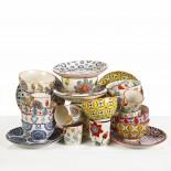 Colour Hippy Bowls (Set of 4) - pols potten