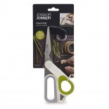 PowerGrip Kitchen Scissors 22.4 cm. (White / Green) - Joseph Joseph