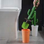 Cacbrush Toilet Brush (White / Green) - Qualy