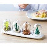 Four Seasons Spice Shakers Set - Qualy