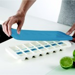 QuickSnap™ Plus Easy-Release Ice Cube Tray with Lid (White / Blue) - Joseph Joseph