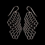 Radiolaria Earrings - (Steel) Nervous System