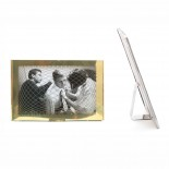 Raute Photo Frame (Brass / Large) - The Fundamental Group