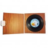 Retro Vinyl Coasters (Set of 6)
