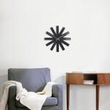 Ribbon Wall Clock (Black) - Umbra