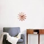 Ribbon Wall Clock (Copper) - Umbra