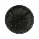 Round Laundry Basket with Wheels (Charcoal) - Versa