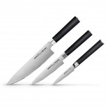 MO-V Knife 3 Piece Gift Wrapped Knife Set - Samura