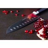 MO-V Santoku Knife 18 cm Hollow Ground - Samura
