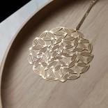 Sasagrass Pendant L (Gold) - Moorigin