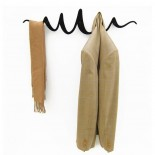 Scribble Coat Rack (Black) - HeadSprung
