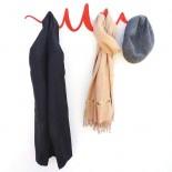 Scribble Coat Rack (Red) - HeadSprung