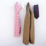 Scribble Coat Rack (White) - HeadSprung
