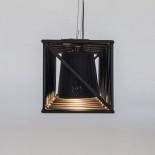 Multilamp Line Hanging Lamp / Floor Lamp (Black) - Seletti