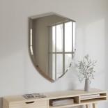 Shield Wall Mirror 80 x 57 cm (Clear) - Umbra