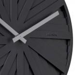 Slides Wall Clock (Black) - Karlsson