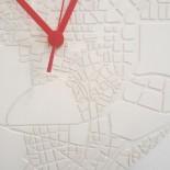 Space & Time Concrete Clock (White) - A Future Perfect