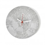 Space & Time Concrete Clock (Grey) - A Future Perfect