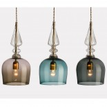 Spindle Shade Pendant Lamp - Rothschild & Bickers