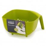 Square Colander (Green) - Joseph Joseph