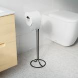 Squire Toilet Paper Stand (Black) - Umbra