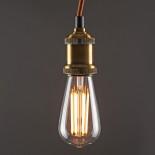 ST64 Dimmable Vintage LED E27 Teardrop Bulb 4 Watt