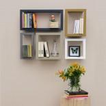 Framed Wall Shelf Highstick - Presse Citron