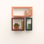 Framed Wall Shelf Largstick - Presse Citron