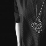 Stone Pendant L (Gold) - Moorigin