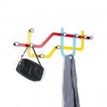 Subway Multi Hook Rack (Multicolor) - Umbra