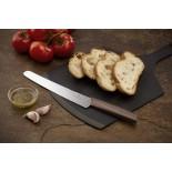 Swiss Modern Bread & Pastry Knife 22 cm (Black) - Victorinox