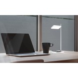 TALIA LED Desk Lamp (White) - Pablo Designs