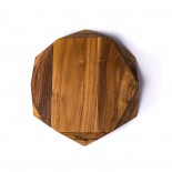 Teak Star Cutting Board Small 25 cm. - Edge of Belgravia